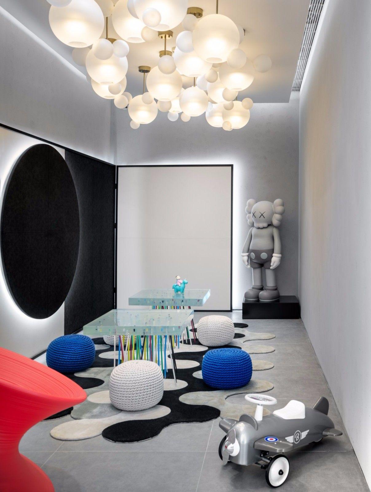 【G&K新作】武汉最艺术的沉浸体验式售楼处设计|G&K建筑设计咨询有限公司 - 23