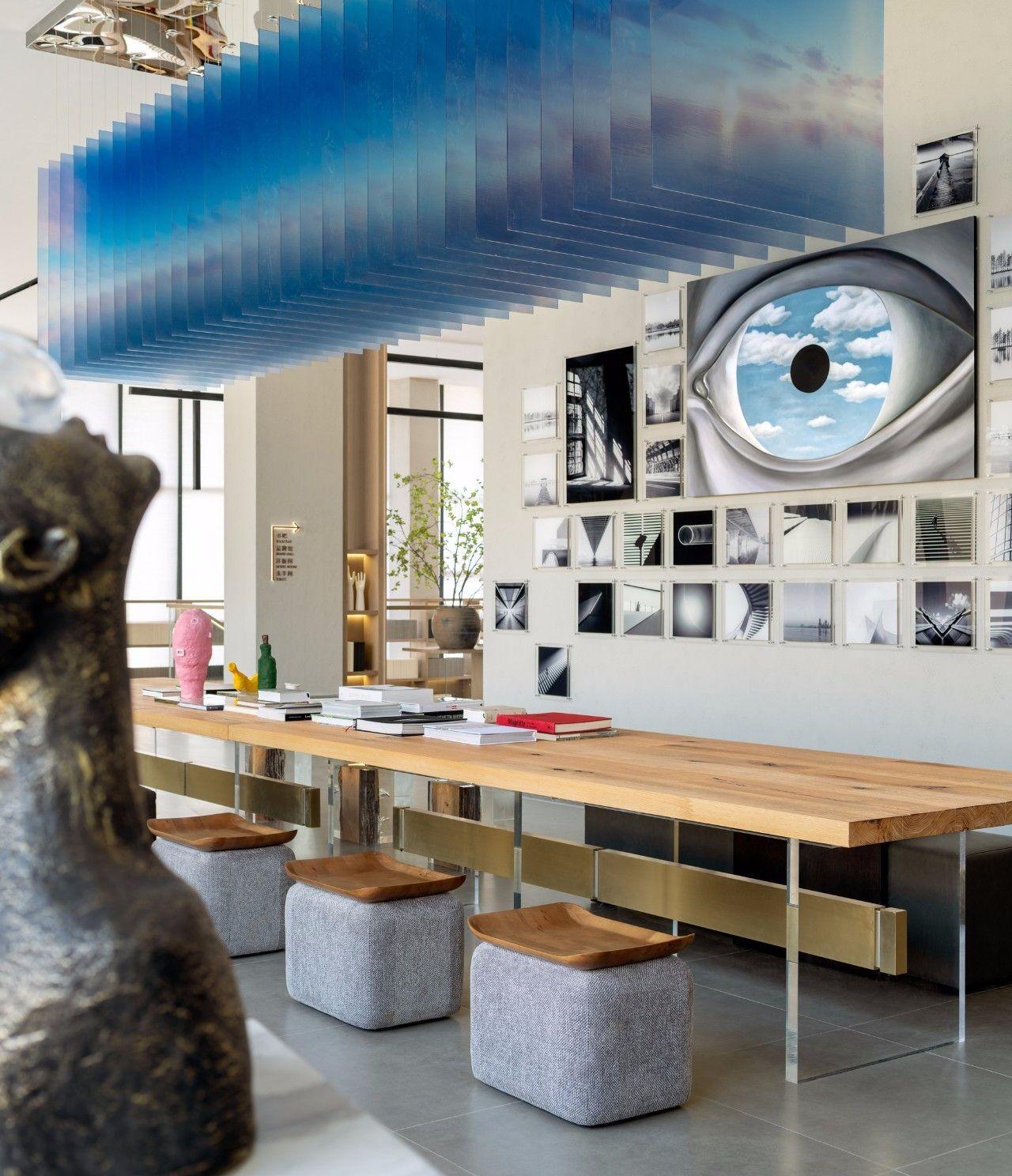 【G&K新作】武汉最艺术的沉浸体验式售楼处设计|G&K建筑设计咨询有限公司 - 8