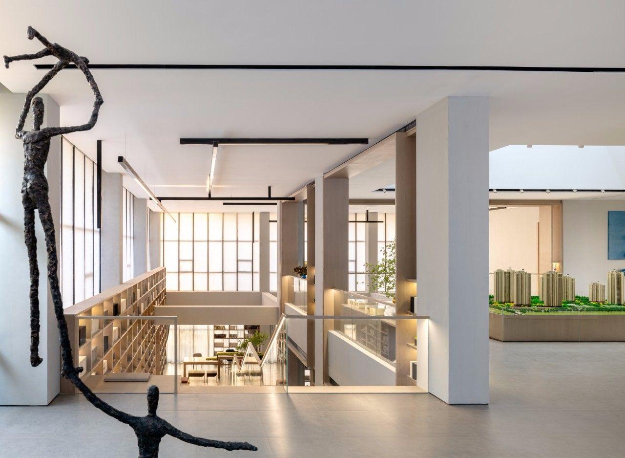 【G&K新作】武汉最艺术的沉浸体验式售楼处设计|G&K建筑设计咨询有限公司 - 12