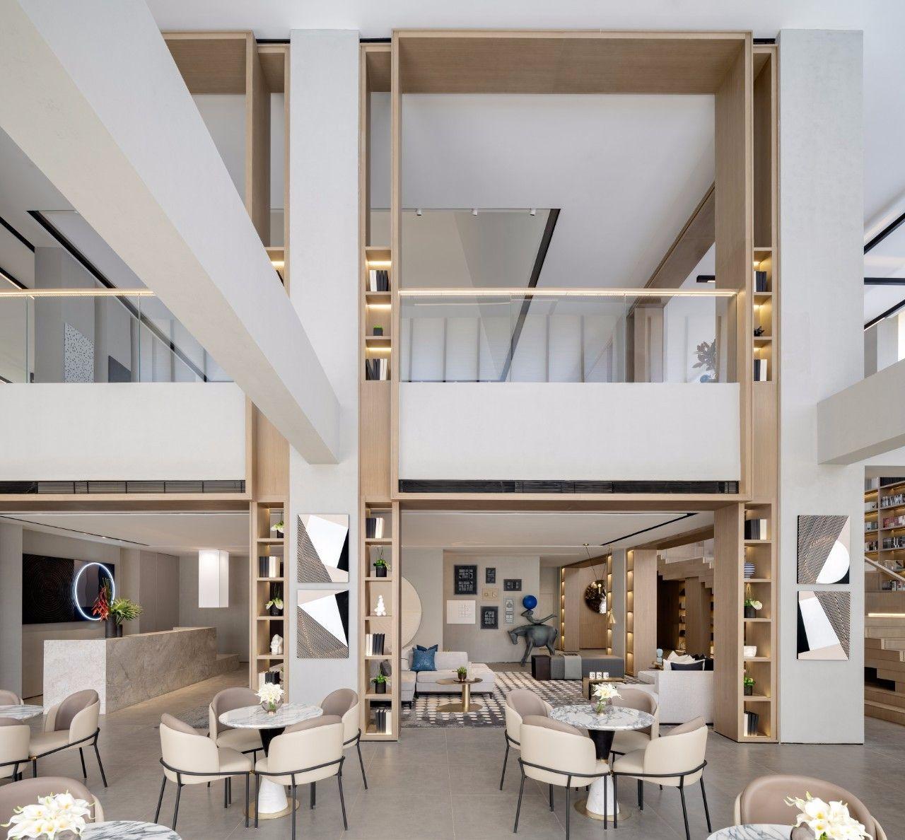 【G&K新作】武汉最艺术的沉浸体验式售楼处设计|G&K建筑设计咨询有限公司 - 17