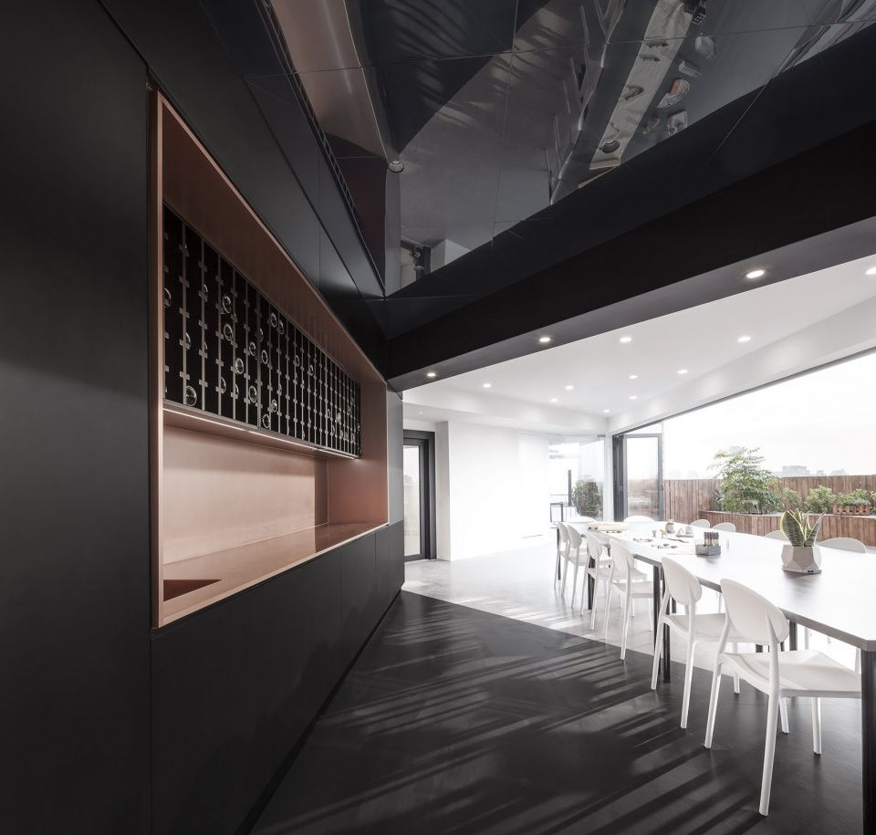 三重转折的办公空间,上海立木新工作室改造 | 立木设计研究室