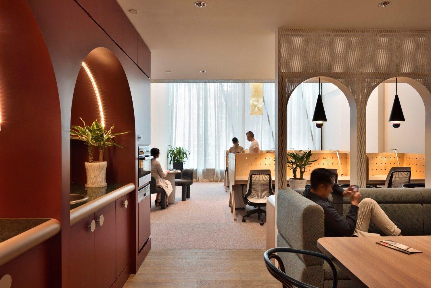 新加坡 The Working Capitol 联合办公空间设计 | HASSELL