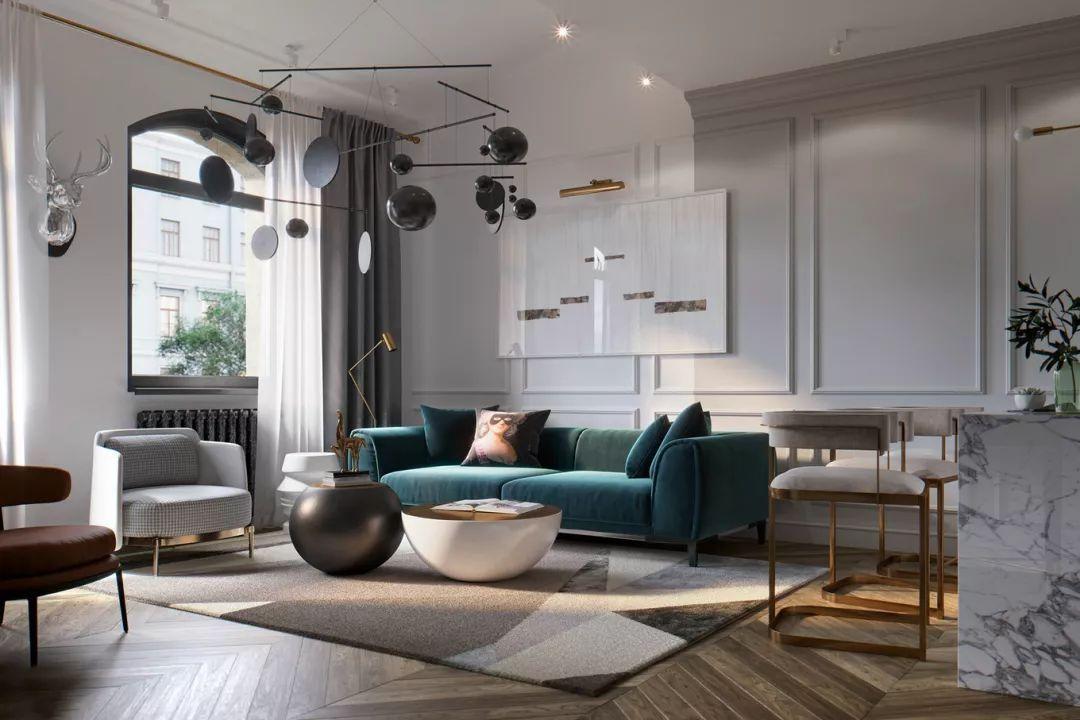 艺术格调的华与美,圣彼得堡公寓 STUDIA 54