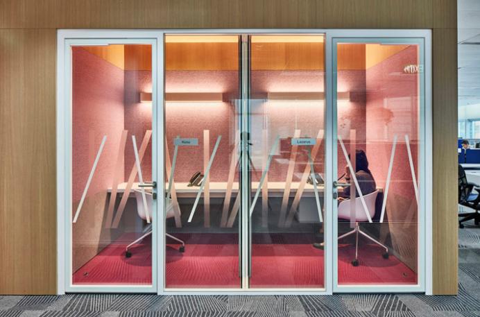 活力多彩 跨国律所Ince&Co新加坡办公设计欣赏