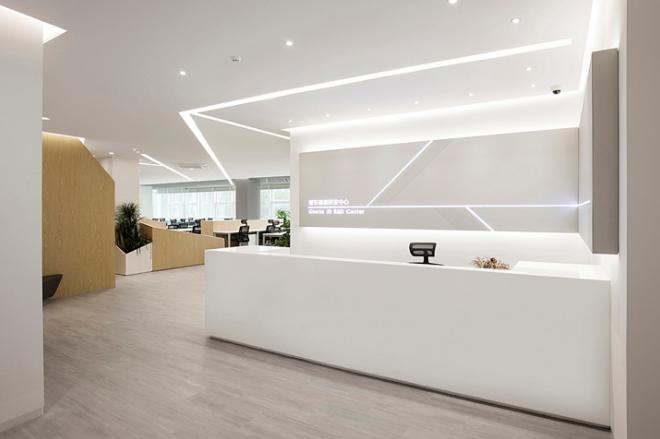 空间被光线分割 誉东研发中心广州办公设计欣赏