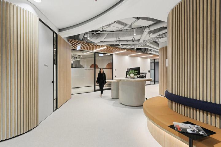 优雅轻奢 企业金融服务商总部设计