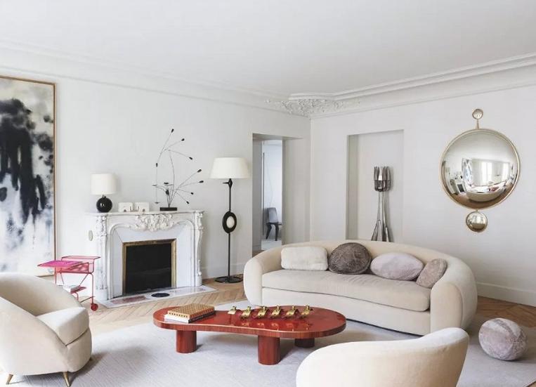 具有动感效果的巴黎公寓