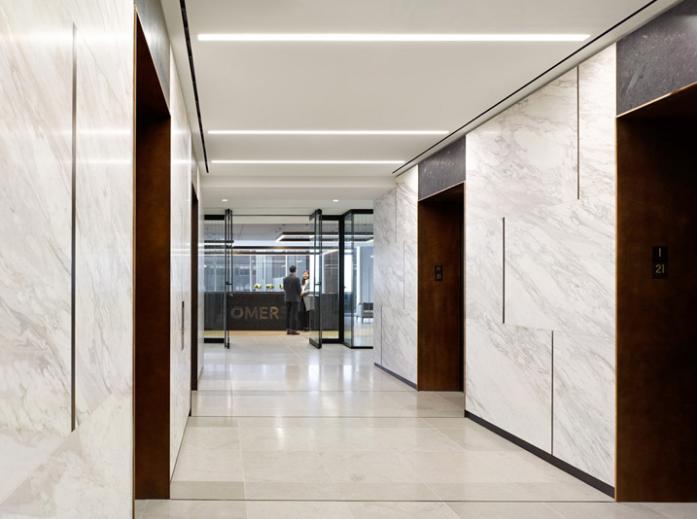 时尚灵动 加拿大OMERS养老基金多伦多办公设计