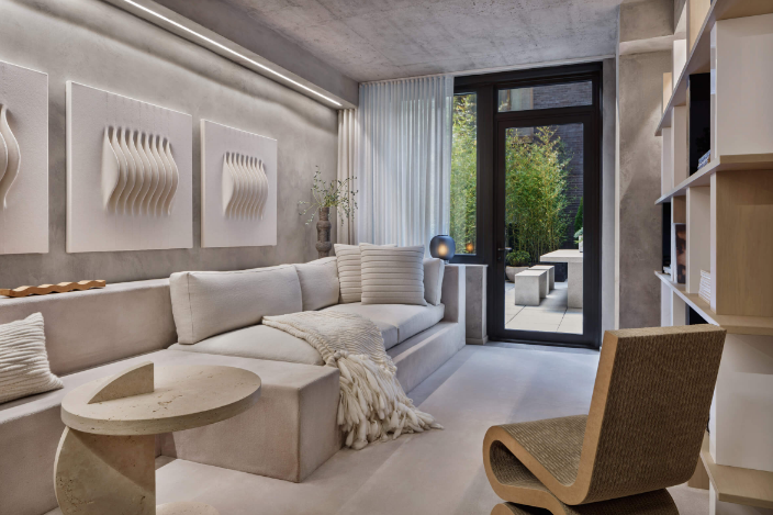 Alex P White | 纽约一间64㎡混凝土公寓
