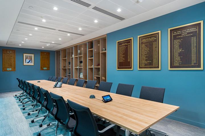 蓝梦Crown Agents敦总部办公室设计