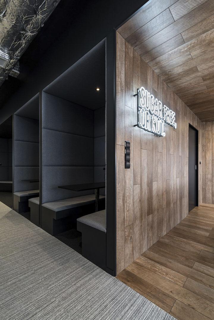 波兰自由之家品牌VOX波兹南总部办公室设计 Bidermann+Wide - 9