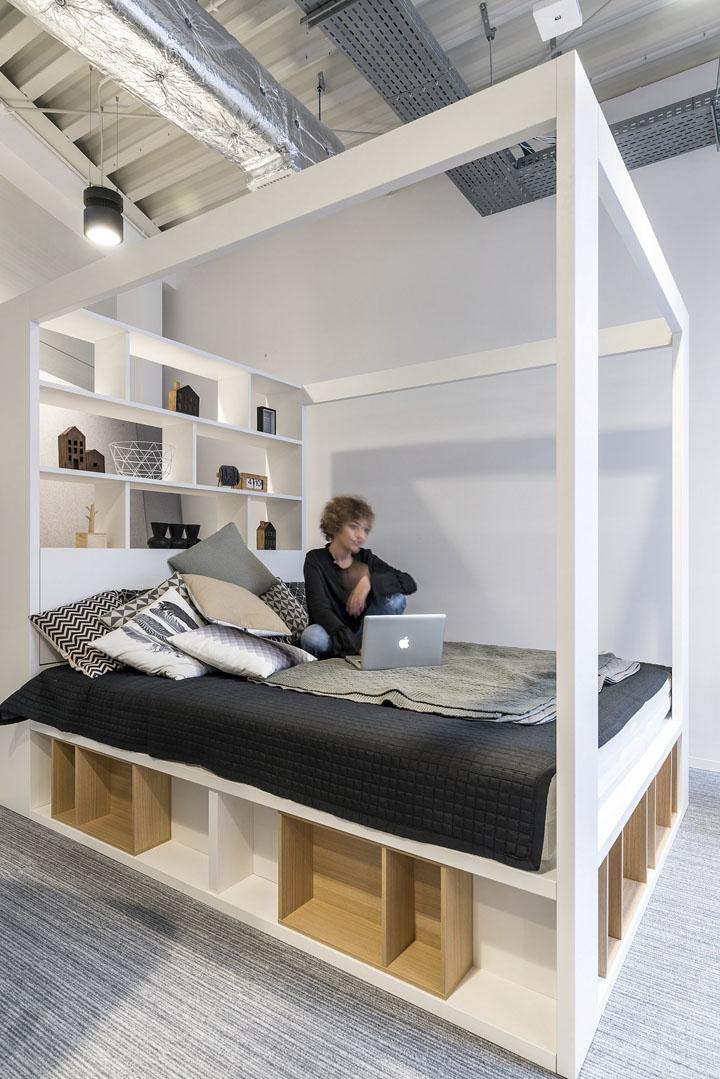 波兰自由之家品牌VOX波兹南总部办公室设计 Bidermann+Wide - 13