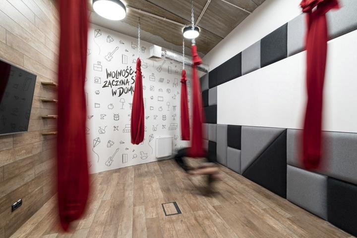 波兰自由之家品牌VOX波兹南总部办公室设计 Bidermann+Wide - 12
