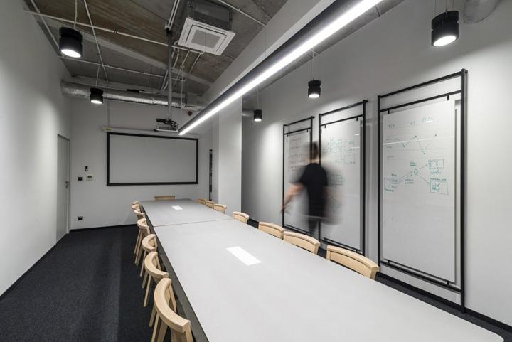 波兰自由之家品牌VOX波兹南总部办公室设计 Bidermann+Wide - 11