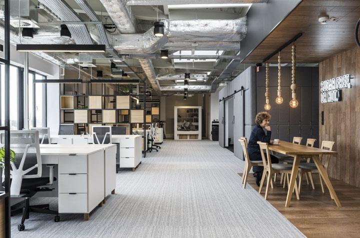 波兰自由之家品牌VOX波兹南总部办公室设计 Bidermann+Wide - 16