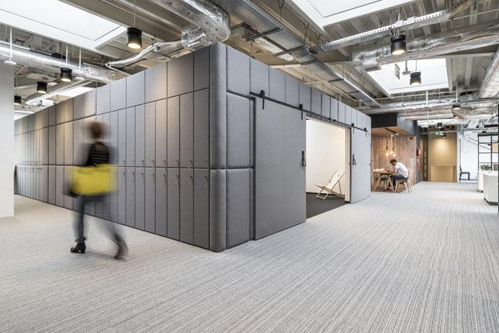 波兰自由之家品牌VOX波兹南总部办公室设计 Bidermann+Wide - 15