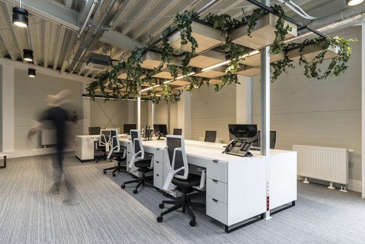 波兰自由之家品牌VOX波兹南总部办公室设计 Bidermann+Wide - 17