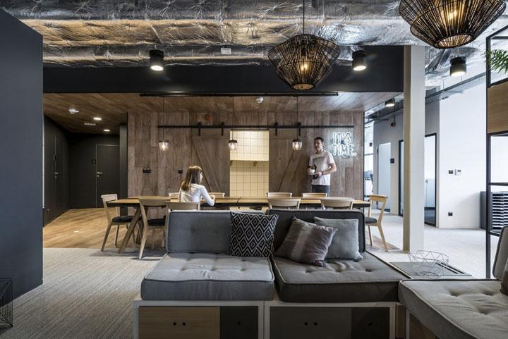 波兰自由之家品牌VOX波兹南总部办公室设计 Bidermann+Wide - 21