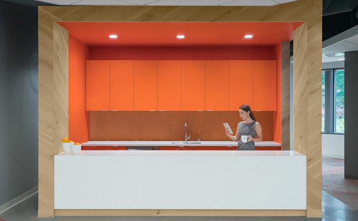 创意之橙 ServiceMax软件公司加州总部设计|Studio G Architects - 6