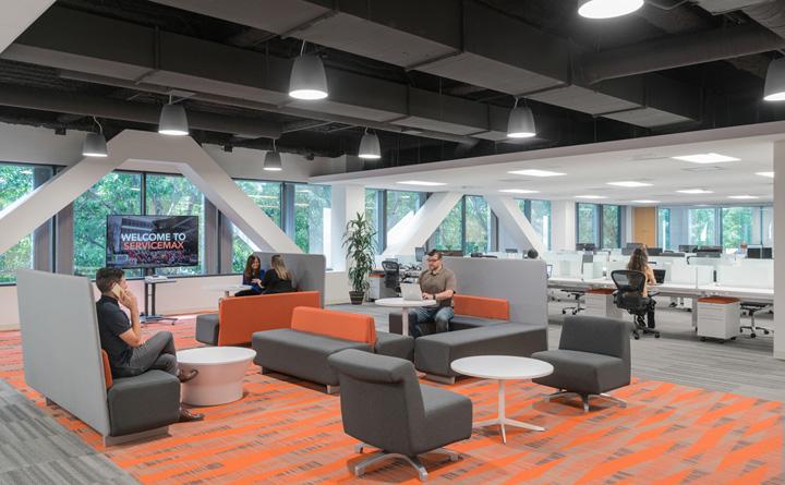 创意之橙 ServiceMax软件公司加州总部设计|Studio G Architects - 8