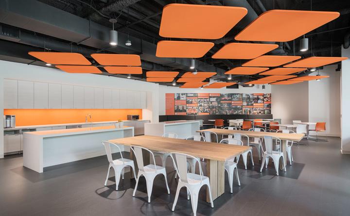 创意之橙 ServiceMax软件公司加州总部设计