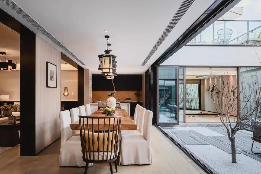 充满艺术气息与人文情怀的现代中式别墅