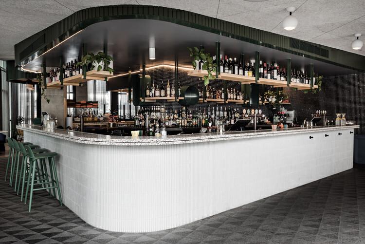 建在屋顶的悉尼BARANGAROO酒吧