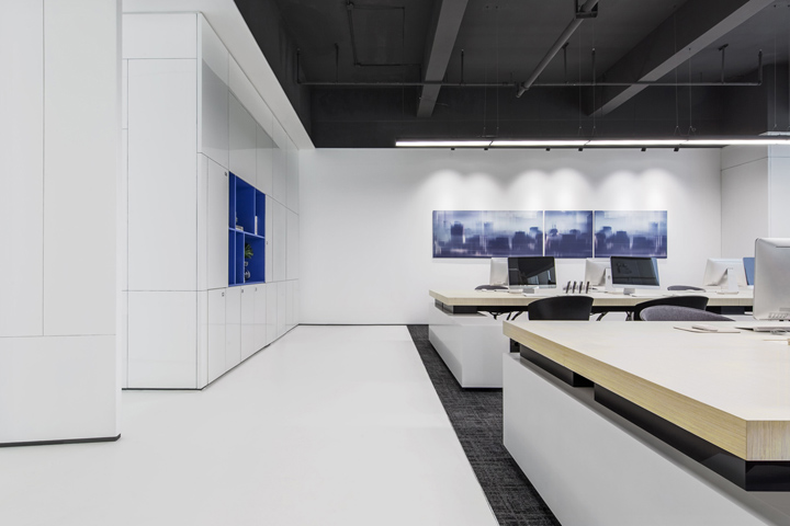 艺术空间 摩登灵动的深圳前海荟办公设计
