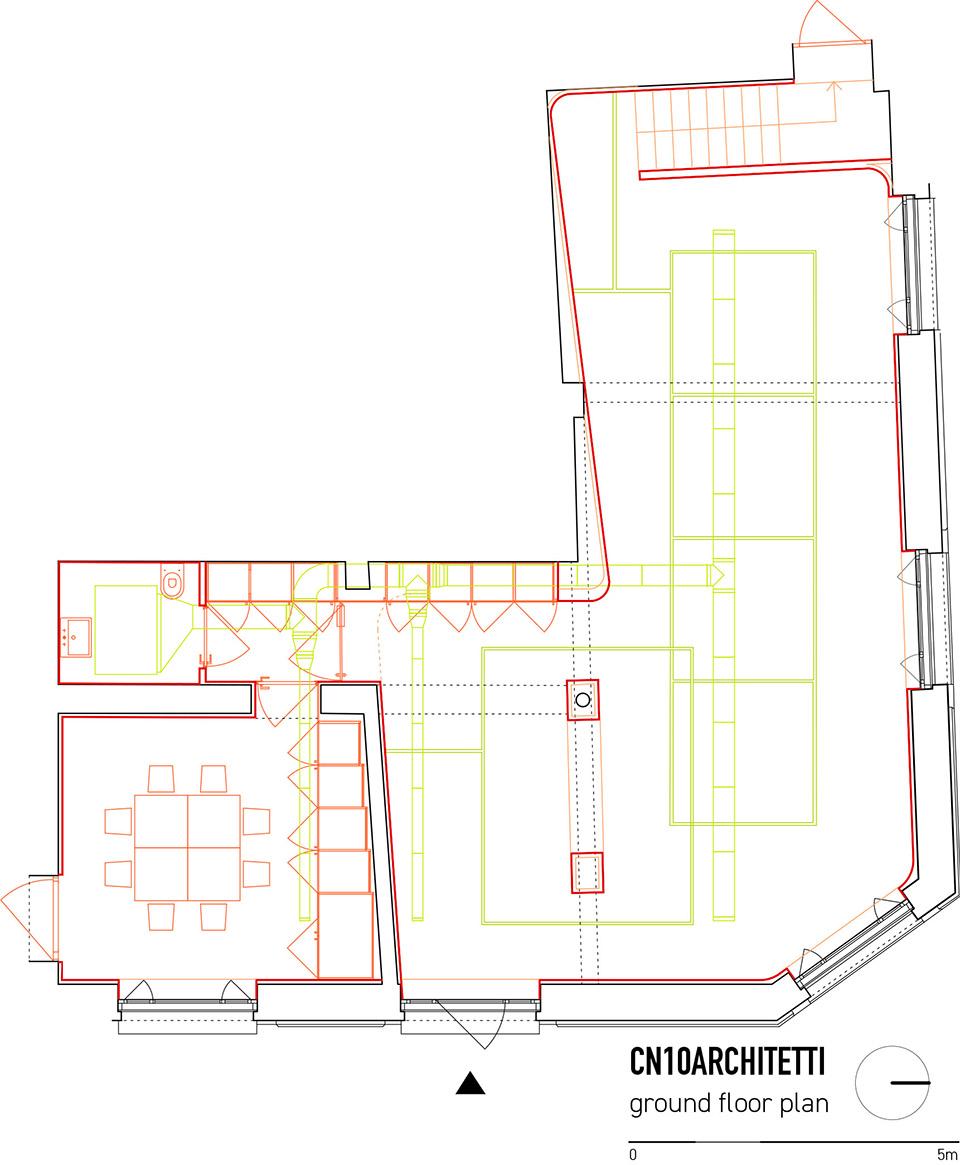 意大利达尔米内市greppi空间改造 / CN10 ARCHITETTI