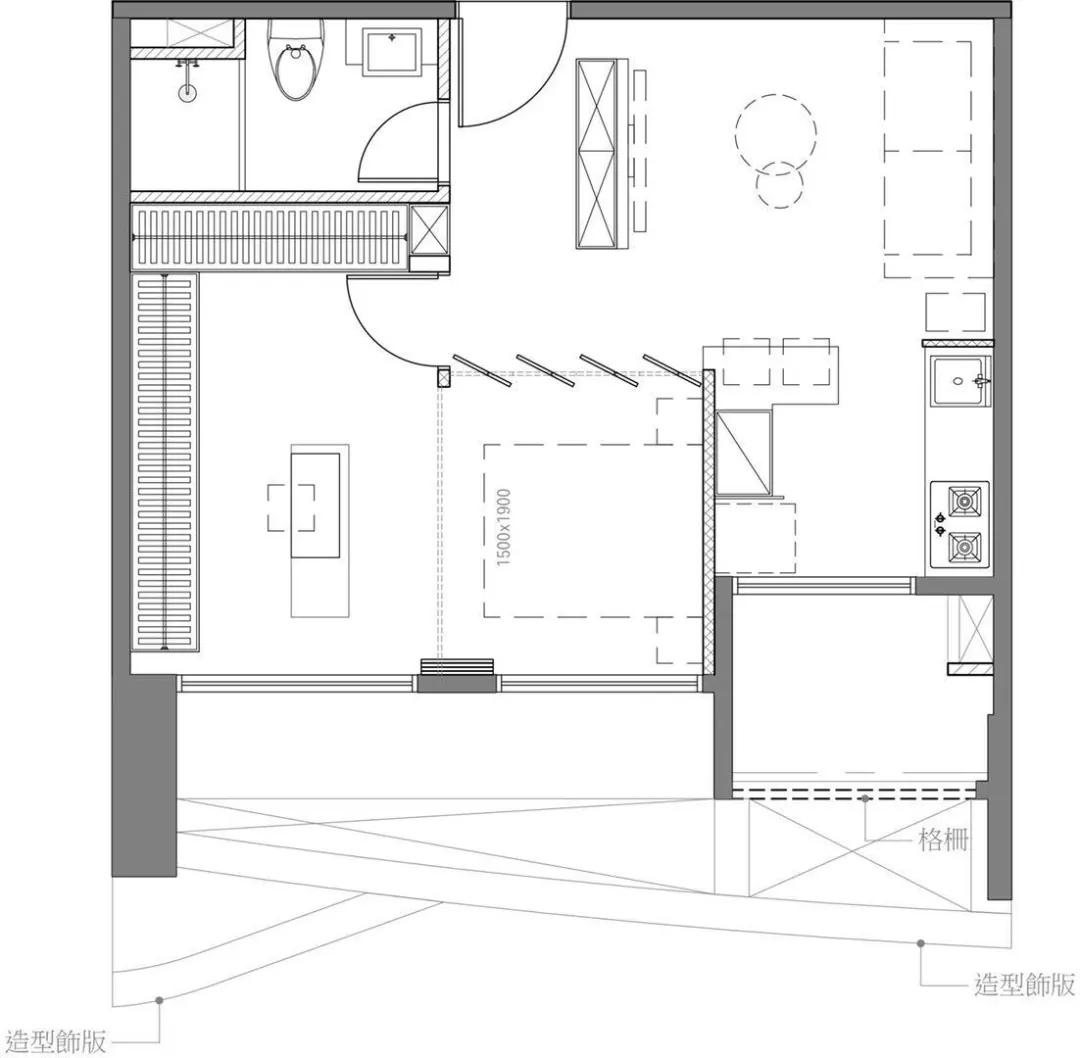 小户型这样设计,瞬间变高级住宅
