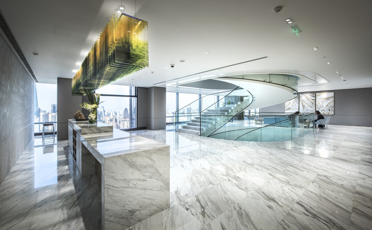 绿色灵动的Fosun复星集团总部设计