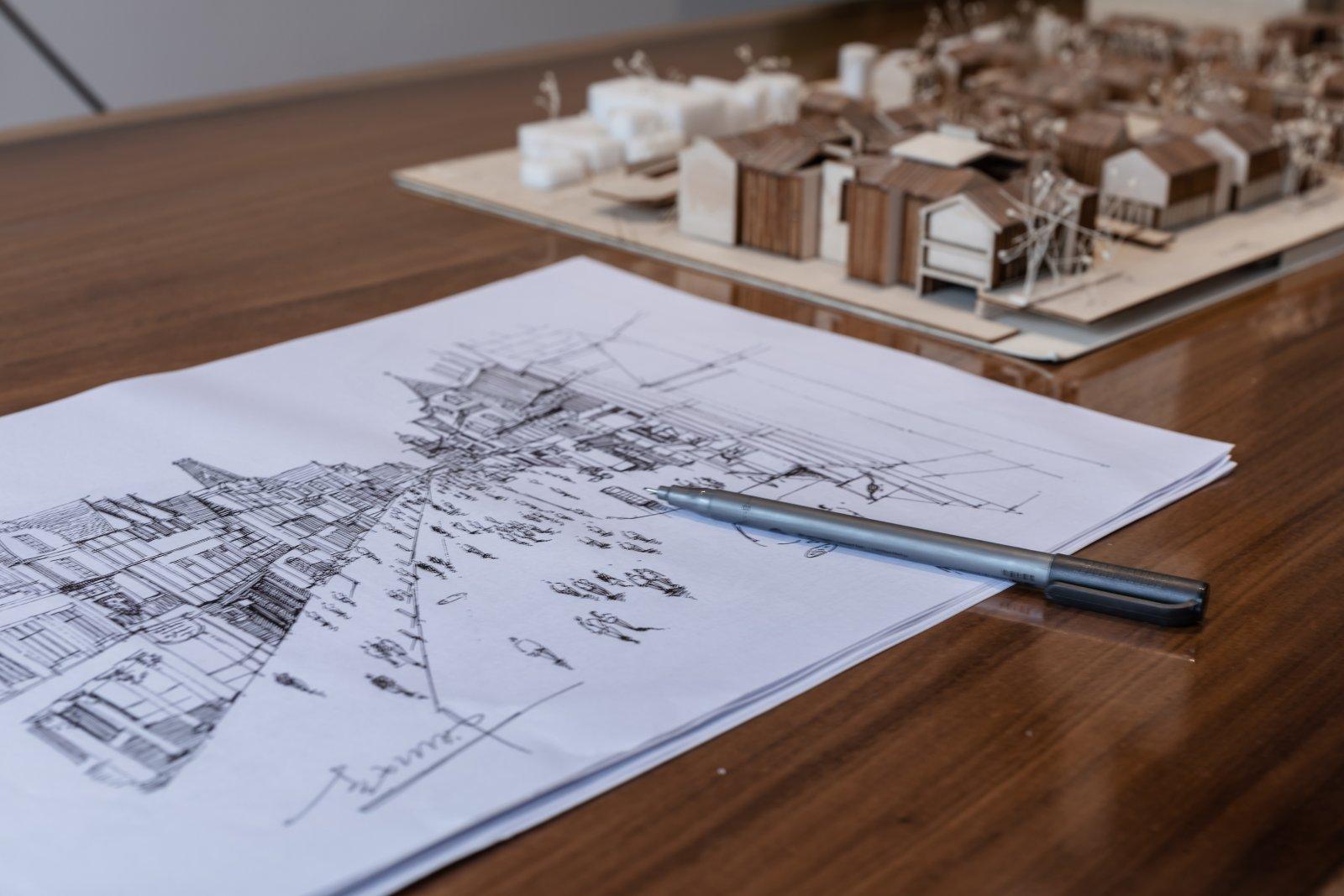 运用点、线、面元素,建筑结构美学  - 16
