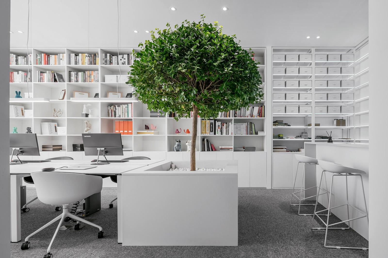 办公室设计,让极简不失调性|张勇、马鑫 - 8