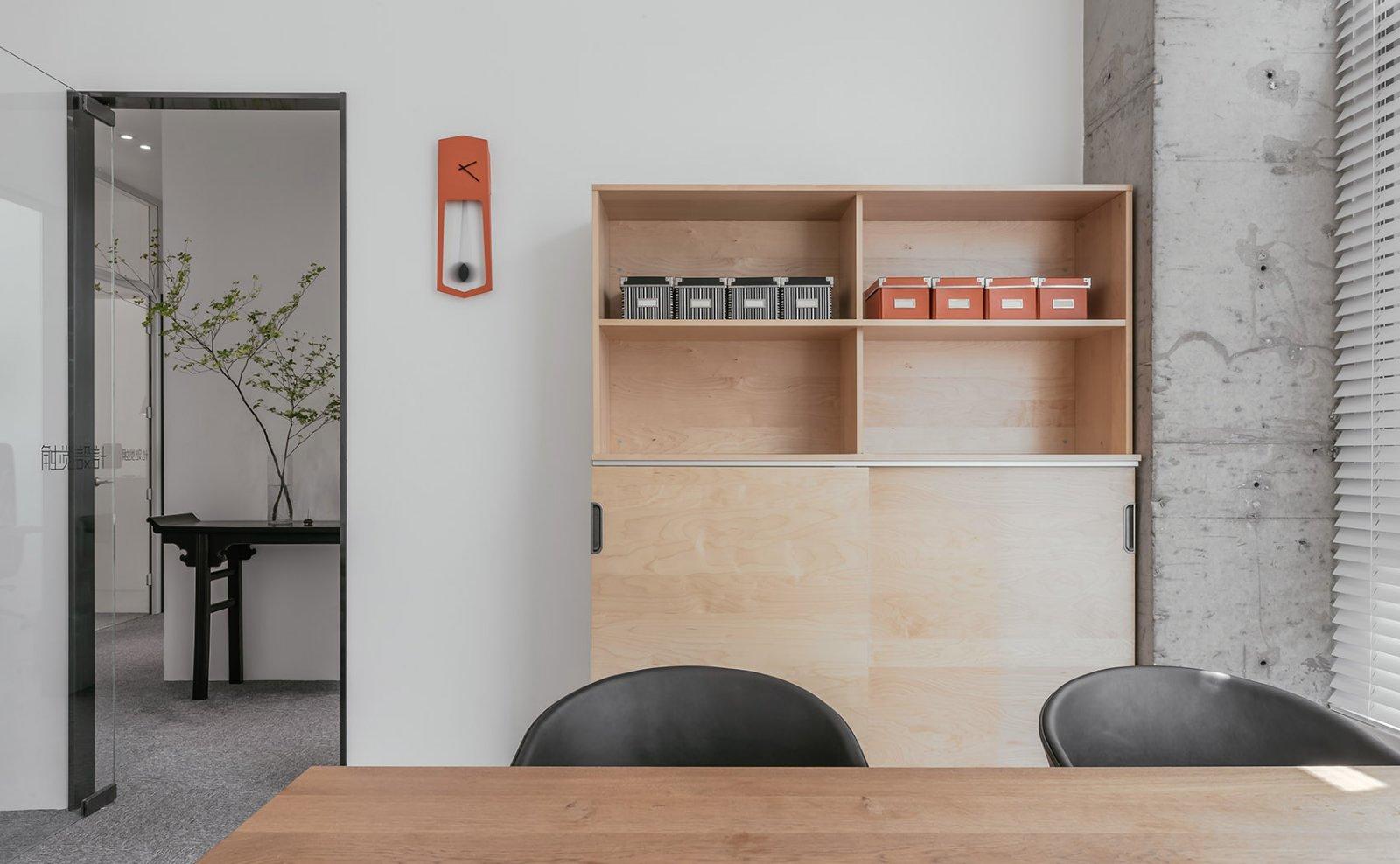 办公室设计,让极简不失调性|张勇、马鑫 - 9