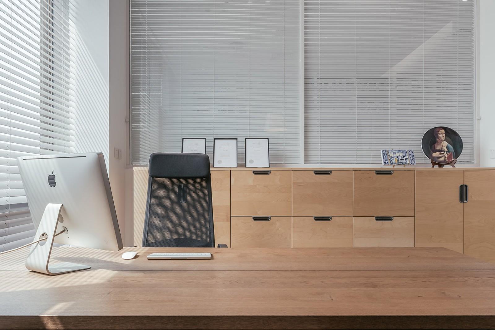 办公室设计,让极简不失调性|张勇、马鑫 - 10