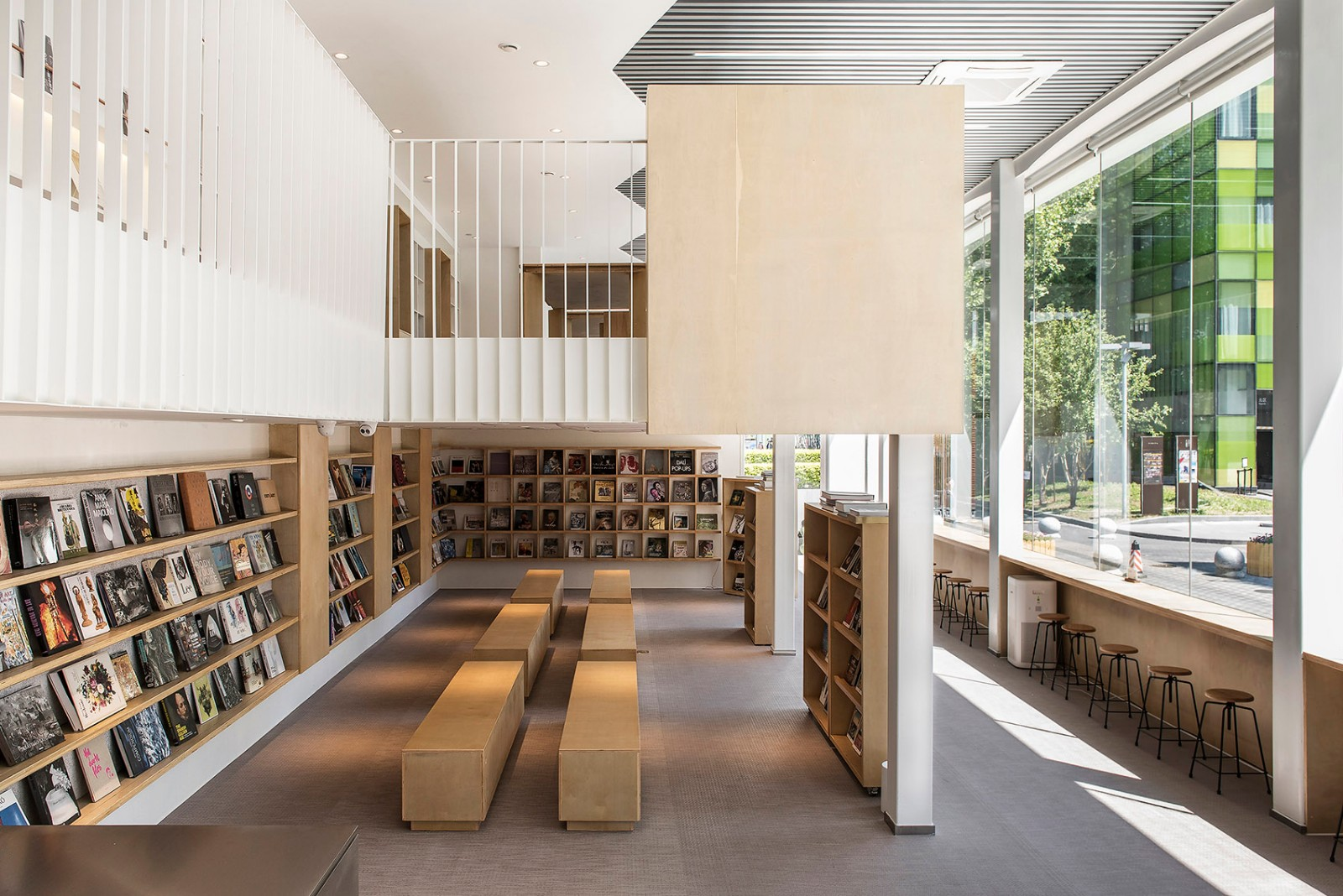 用温和的设计语言去改造阅读空间