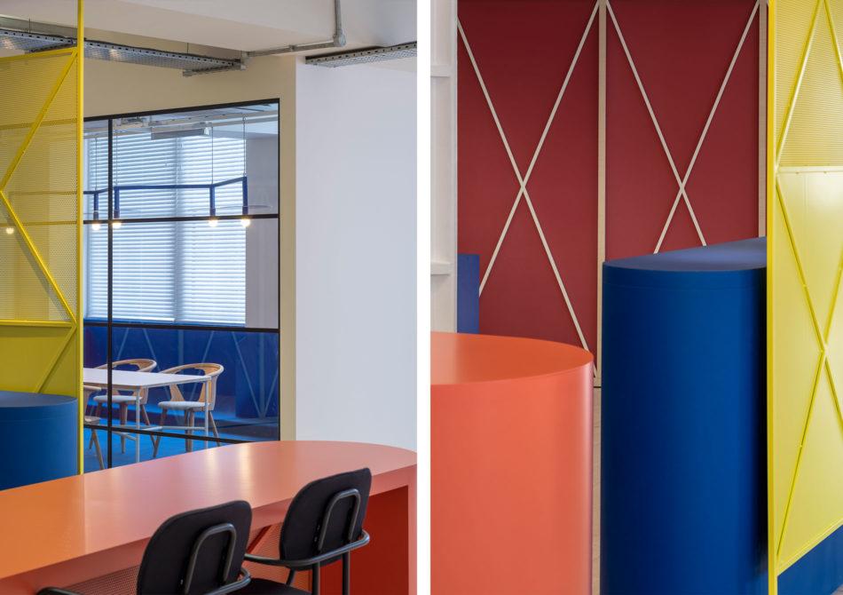 """""""咖啡馆风格""""的灵活办公空间"""