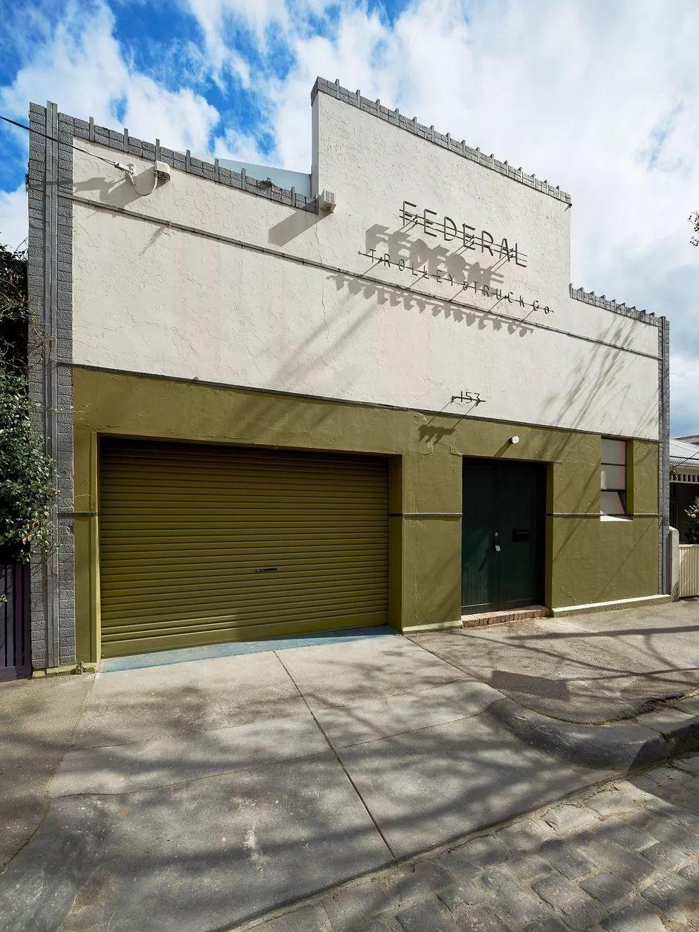 工厂翻新,变身为墨尔本最时尚的房子