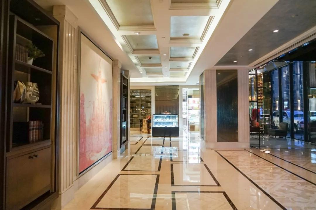 大隐隐于繁华里:重庆江北希尔顿逸林酒店