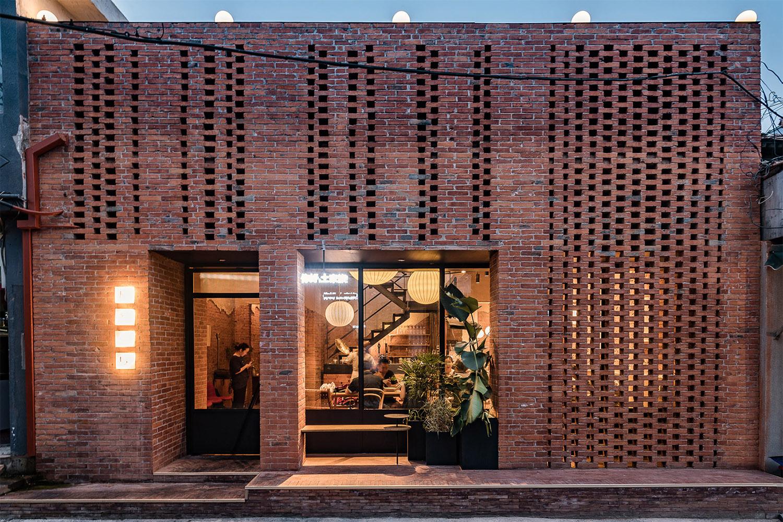 让人眼前一亮的红砖特色餐厅