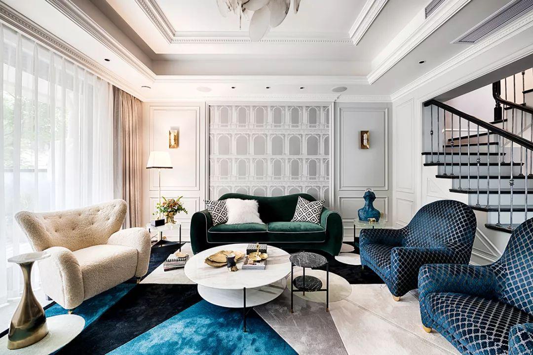 现代轻奢风格大宅,用低调来诠释奢华!