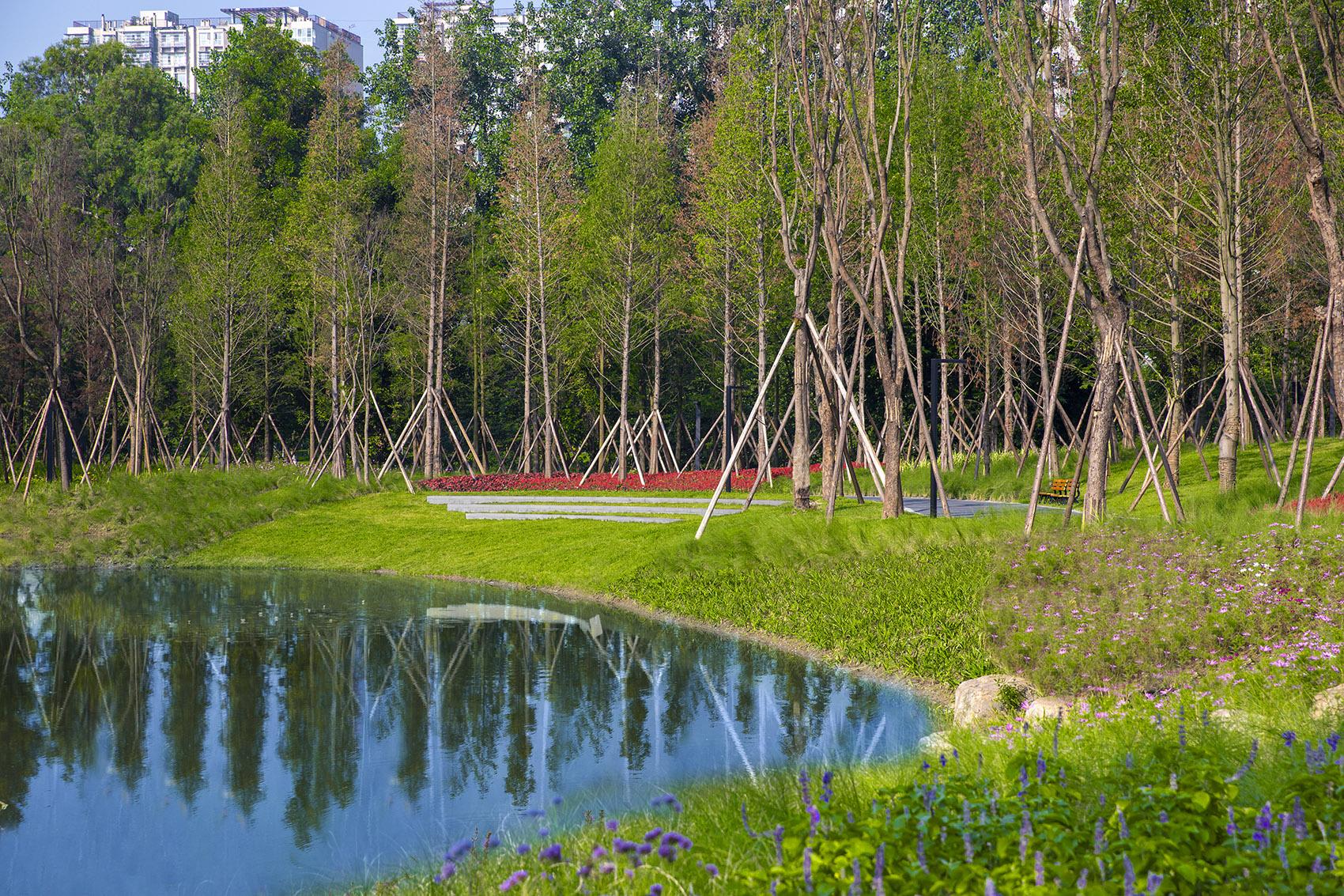 以自然之笔重塑富春山水景观