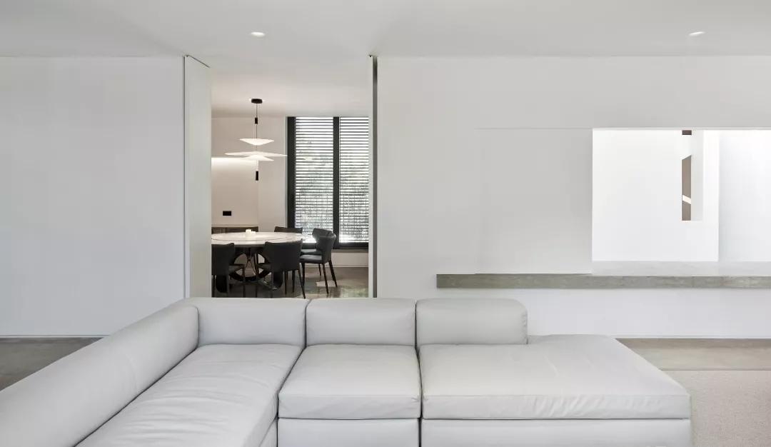 唯美现代主义别墅,白色的优雅与极致| - 8