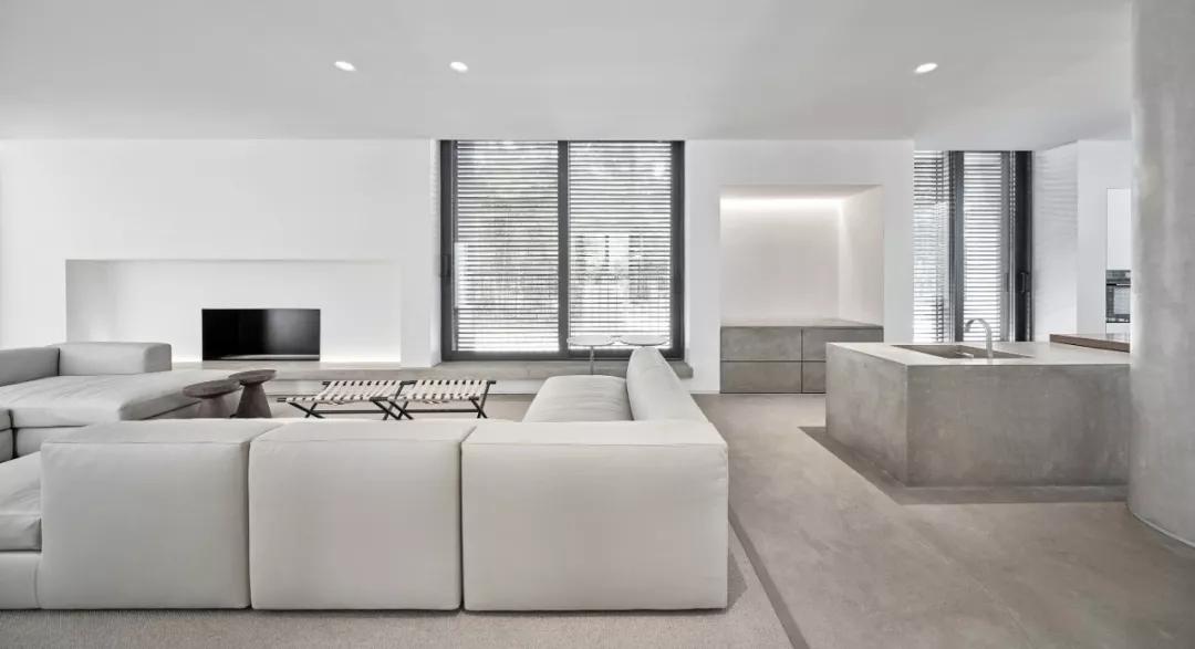 唯美现代主义别墅,白色的优雅与极致| - 7