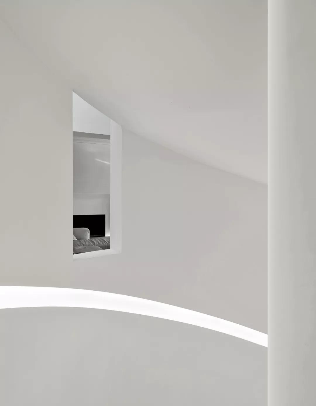 唯美现代主义别墅,白色的优雅与极致| - 15