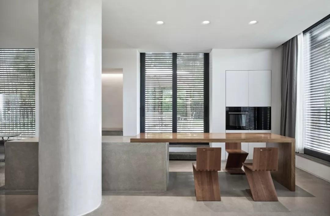 唯美现代主义别墅,白色的优雅与极致| - 19