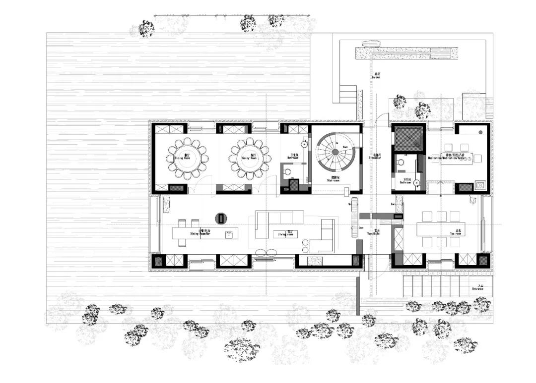 唯美现代主义别墅,白色的优雅与极致| - 32