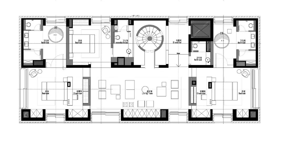 唯美现代主义别墅,白色的优雅与极致| - 33