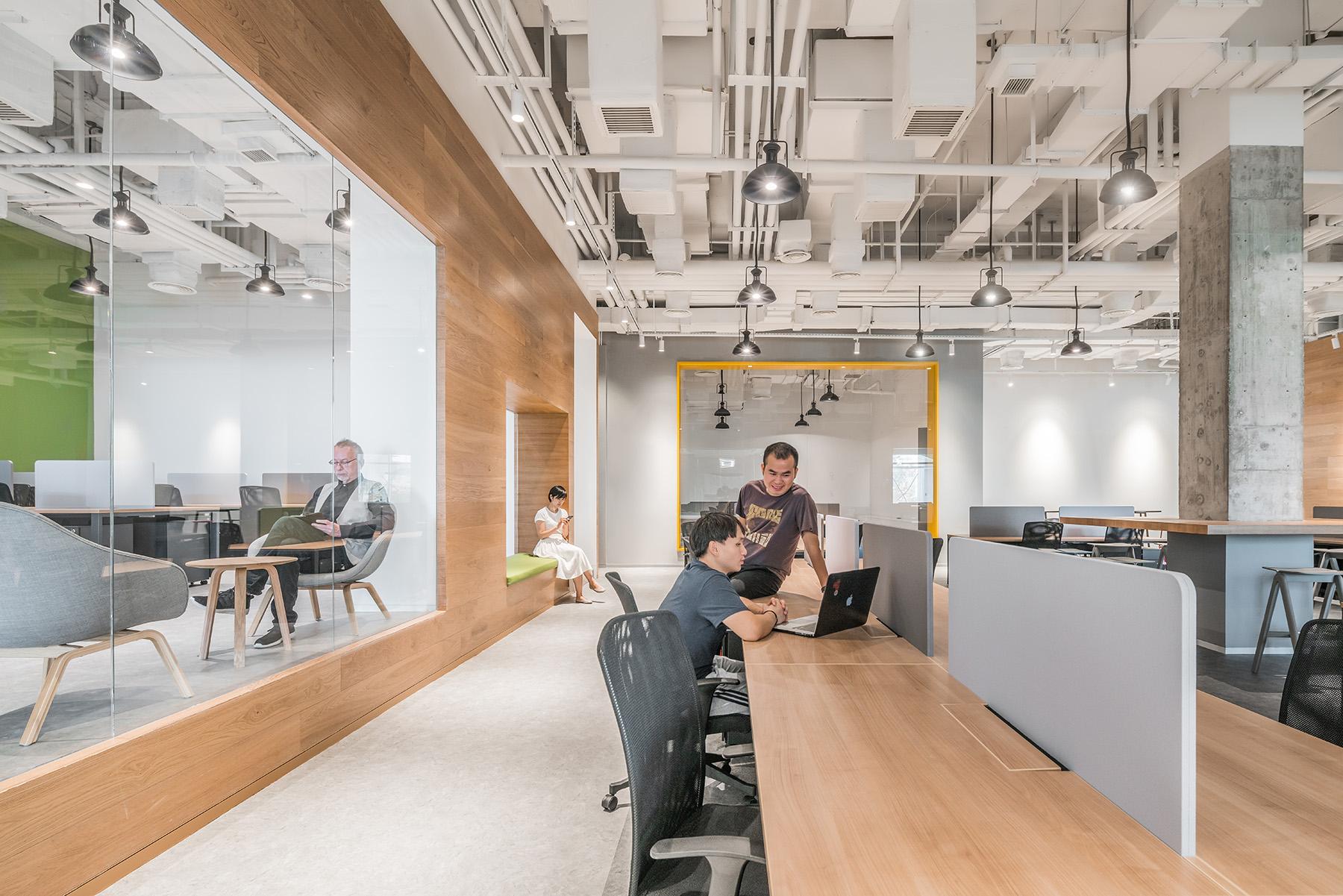 拒绝枯燥乏味!打造全新办公空间,给你家的温暖!|Gensler - 7