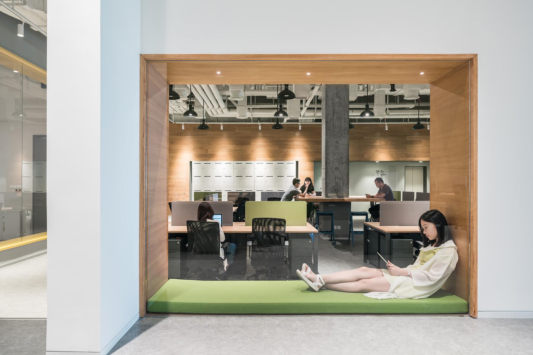 拒绝枯燥乏味!打造全新办公空间,给你家的温暖!|Gensler - 8